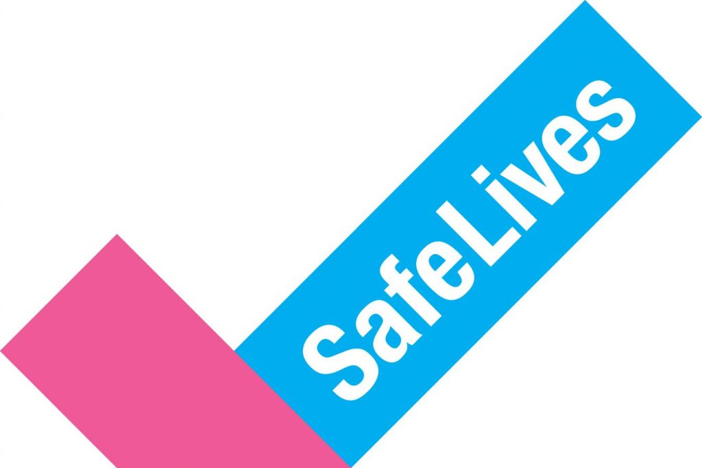 Safe lives logo
